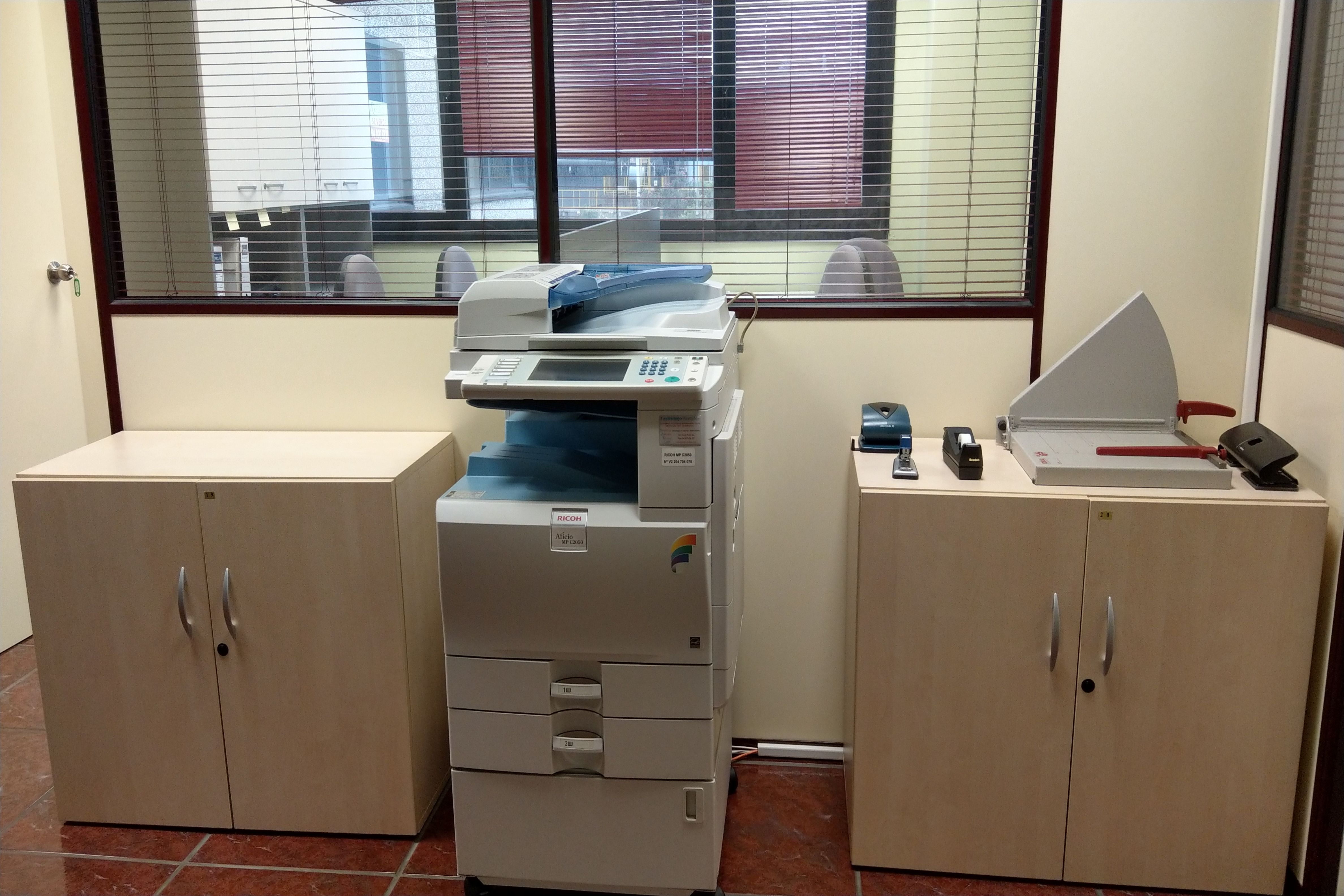 impresora multifunción del coworking